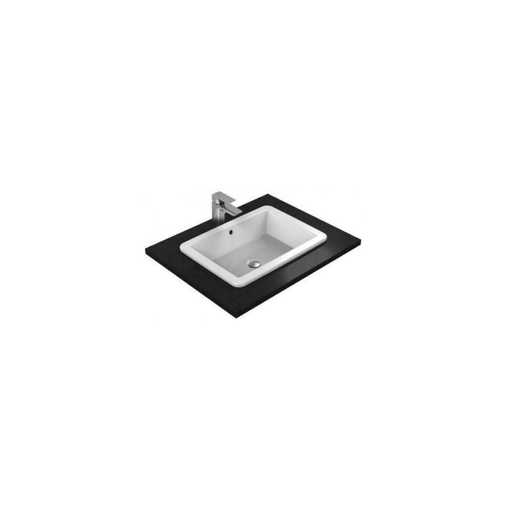 Lavoar incastrabil Ideal Standard Strada 59.5x43.5 cm imagine neakaisa.ro
