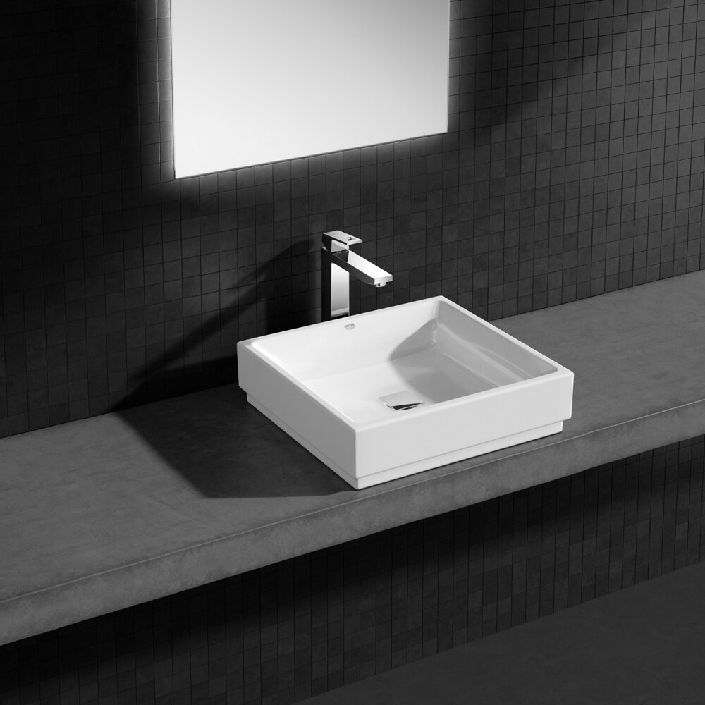 Lavoar Blat Cube Ceramic Imagine