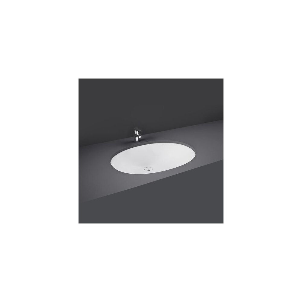 Lavoar sub blat Rak Ceramics Rosa 50x41 cm imagine