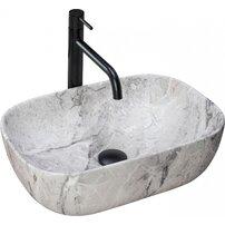 Lavoar pe blat Rea Livia Stone 46,5 cm