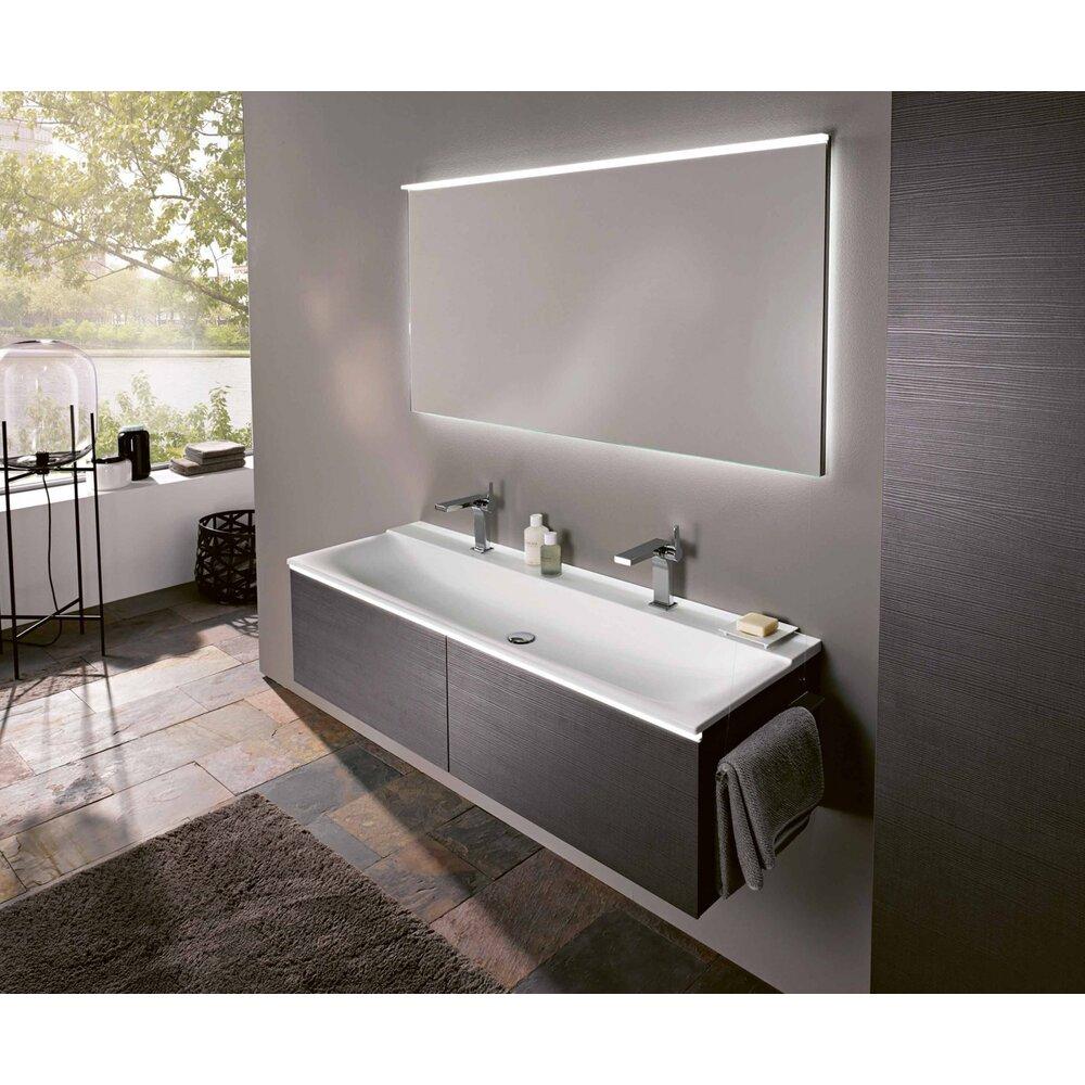 Lavoar pe mobilier Geberit Xeno² 140 cm cu orificiu baterie imagine