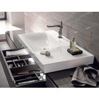 Lavoar pe mobilier Geberit Xeno² 90 cm cu blat dreapta fara orificiu baterie
