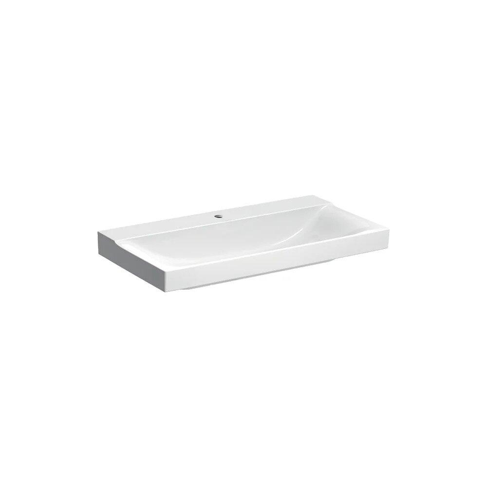 Lavoar pe mobilier Geberit Xeno² 90 cm cu orificiu baterie imagine