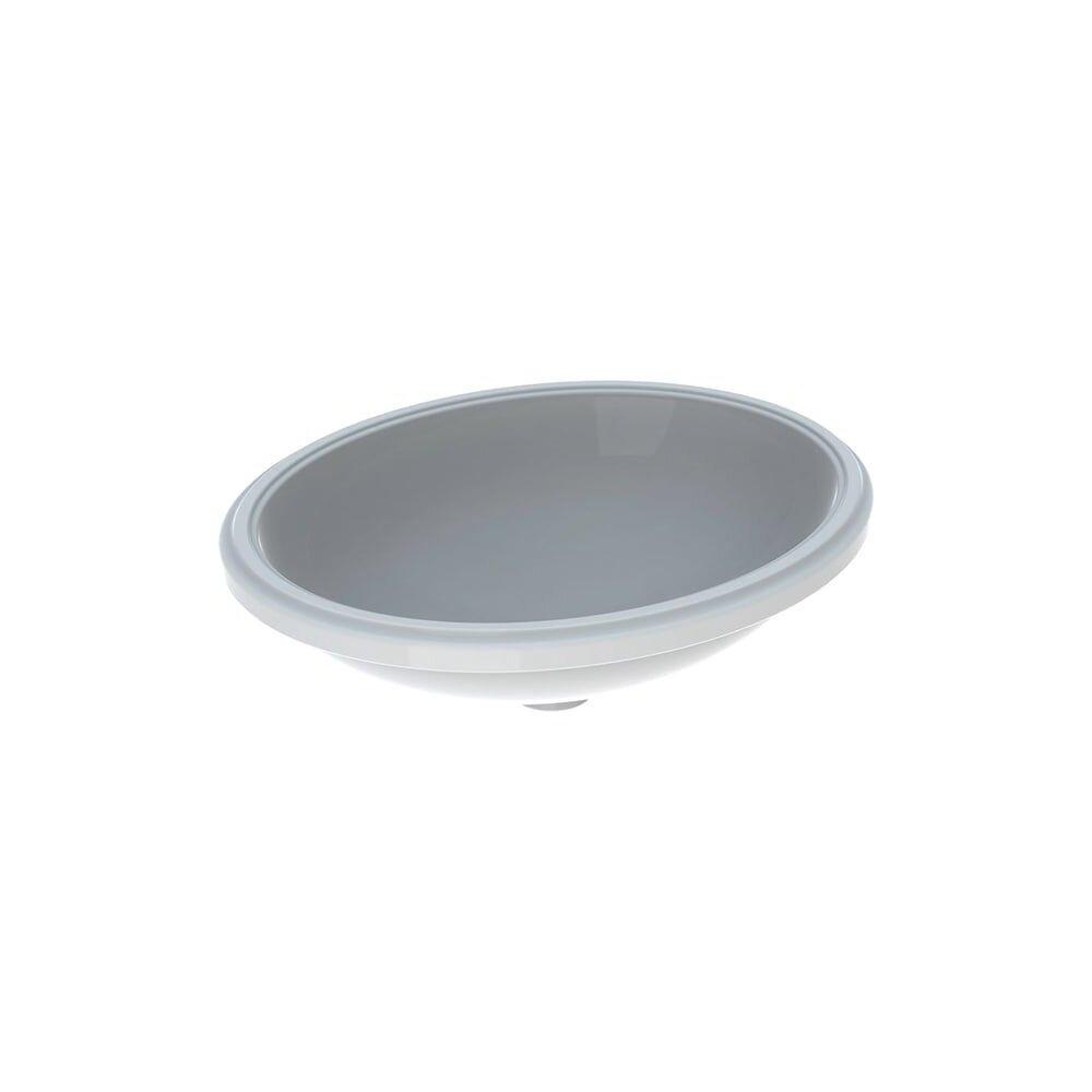 Lavoar sub blat Geberit Variform 56 cm fara orificiu baterie fara orificiu preaplin imagine