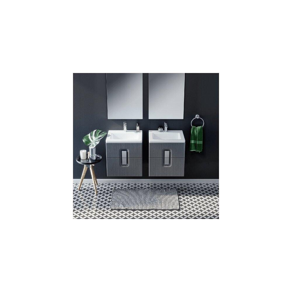 Lavoar pe mobilier Kolo Twins slim 50x46 cm imagine
