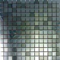 Mozaic sticla Metal Mosaic Silver 29.5x29.5