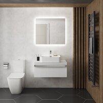 Oglinda cu iluminare si dezaburire Ideal Standard Mirror&Light Ambient 80x70 cm
