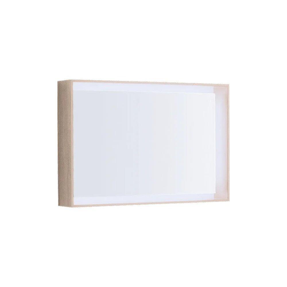 Oglinda cu iluminare LED Geberit Citterio bej 89 cm imagine neakaisa.ro