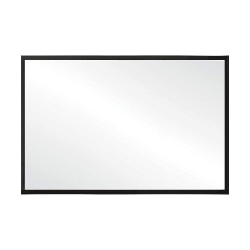 Oglinda dreptunghiulara 60x45 cm Rea rama slim neagra KLMH-6045B-1 neakaisa.ro