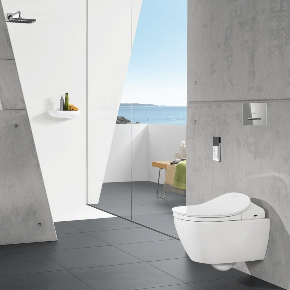 Pachet Viclean Wc Suspendat Direct Flush Subway . Capac Bideu Rezervor Incastrat Plus Clapeta Racord Apa Imagine