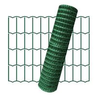 Plasa de gard zincata PVC Europlast 1.8x25m 2.2x100x50mm