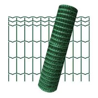 Plasa de gard zincata PVC Hortaplast 1.8x25m 2.6x100x50mm