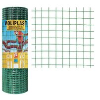 Plasa de gard zincata PVC Voliplast 0.5x10m 1.2x16x16mm