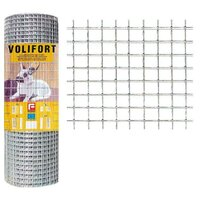 Plasa de gard zincata Volifort 1x10m 1.45x19x19mm
