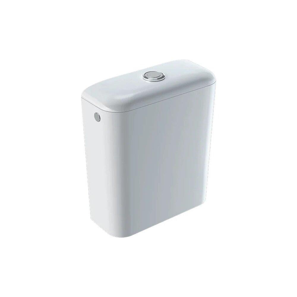 Rezervor asezat pe vas Geberit Icon ceramica cu alimentare laterala sau inferioara imagine