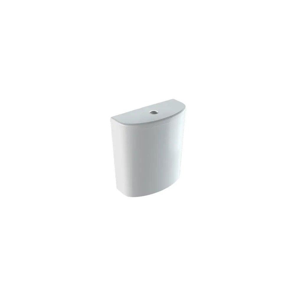 Rezervor asezat pe vas Geberit Selnova ceramica cu alimentare laterala poza