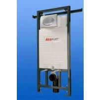 Rezervor WC ingropat Alcaplast Jadromodul ce poate fi adaptat intre pereti inaltime de instalare 0,85 m