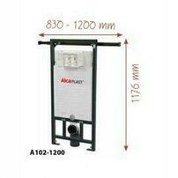 Rezervor wc incastrat Alcaplast Jadromodul ce poate fi adaptat intre pereti inaltime de instalare 1,2 m