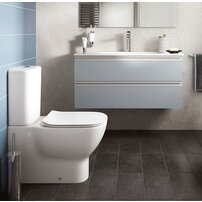 Set vas wc btw cu rezervor si capac slim softclose Ideal Standard Tesi Aquablade