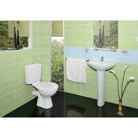 Set complet vas wc cu rezervor si capac, iesire orizontala Vidima SevaLoop