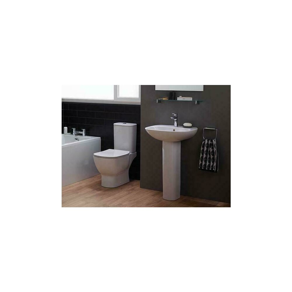 Set complet vas wc cu rezervor si capac softclose Ideal Standard Tesi Aquablade imagine neakaisa.ro
