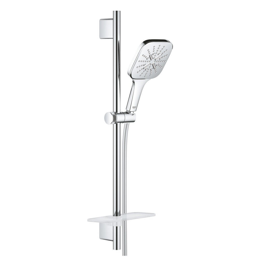 Set de dus Grohe Rainshower 130 Smartactive Cube imagine