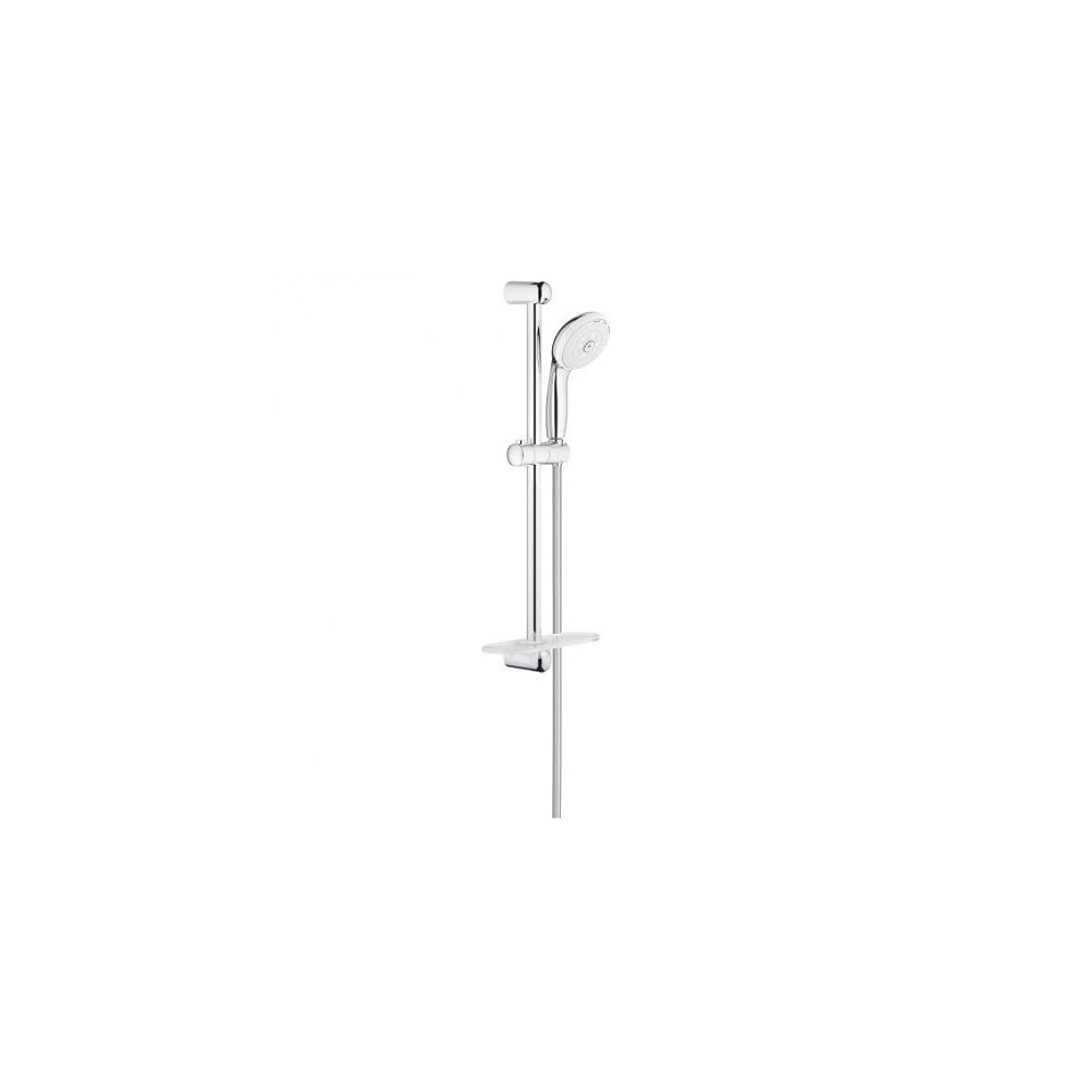 Set de dus Grohe New Tempesta 3 jeturi cu bara, polita si furtun imagine