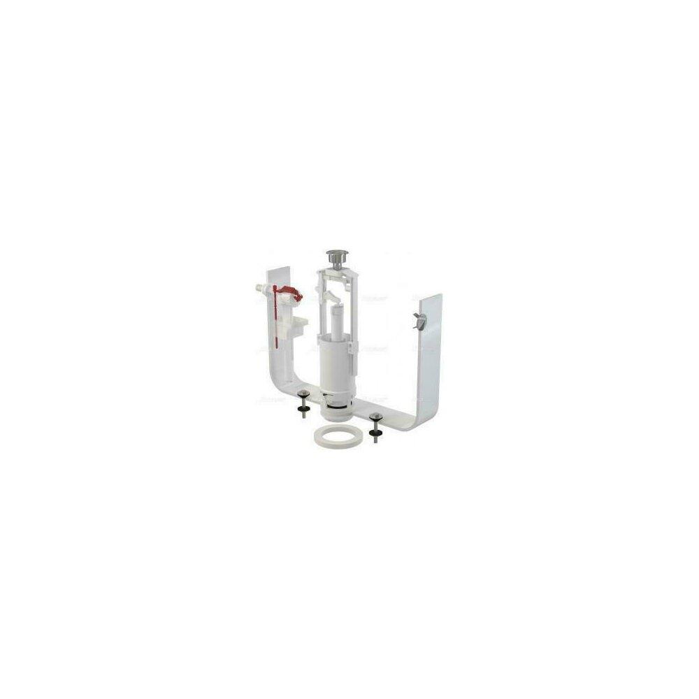 Set mecanism wc cu actionare simpla alimentare laterala 3/8 tol SA2000 A16 Alcaplast poza