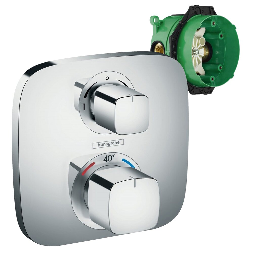 Set Baterie Dus Termostatica Ecostat Incastrata Ibox - 4483
