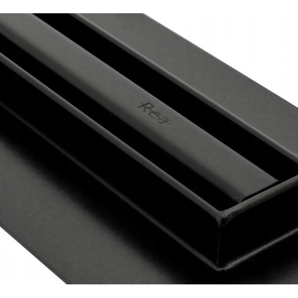 Set rigola pentru dus plus capac 70 cm Rea Neo Slim Pro Negru imagine neakaisa.ro