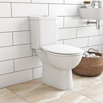 Set vas toaleta cu rezervor si capac softclose Grohe Bau Ceramic