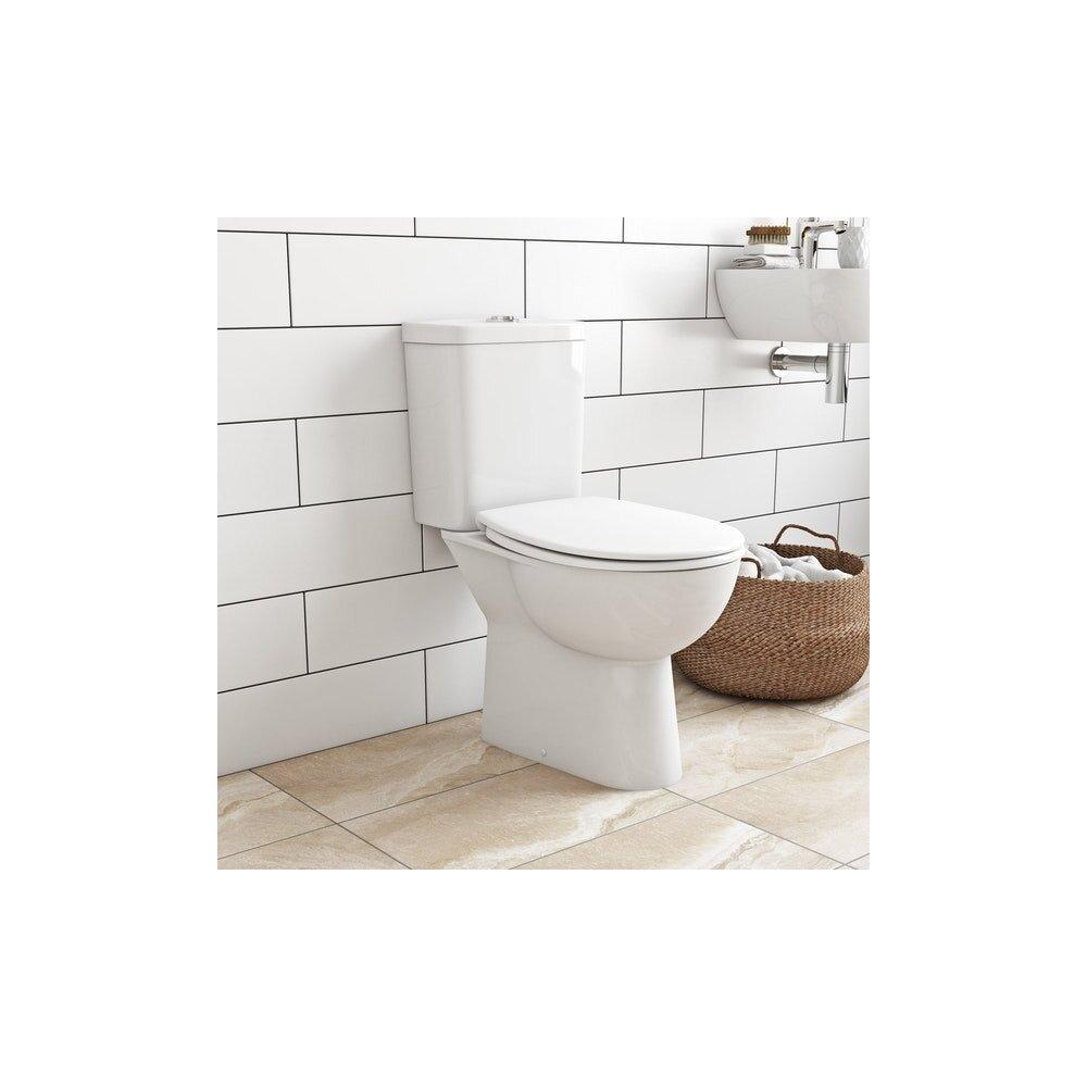 Set vas toaleta cu rezervor si capac softclose Grohe Bau Ceramic imagine