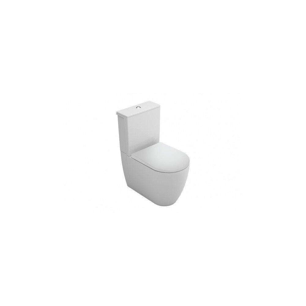 Set vas wc BTW Gala Coral cu rezervor asezat si capac softclose imagine