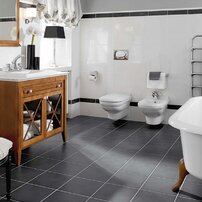 Set Vas wc si bideu suspendat Villeroy&Boch Hommage cu capac soft close