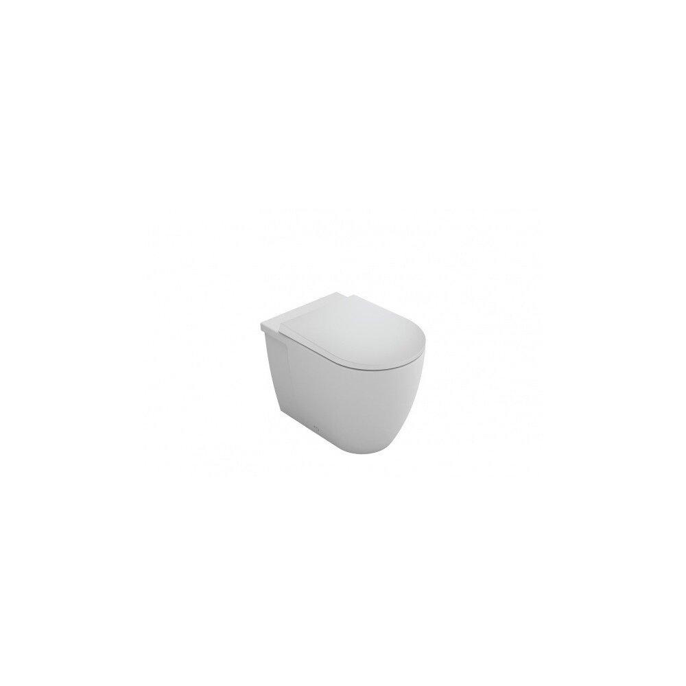 Set vas wc suspendat BTW cu capac softclose Gala Coral imagine