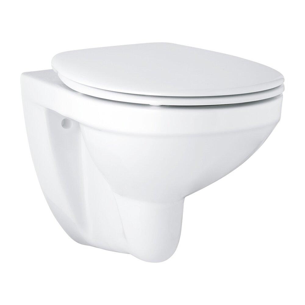 Set vas wc suspendat Bau Ceramic cu capac Bau Ceramic fix poza