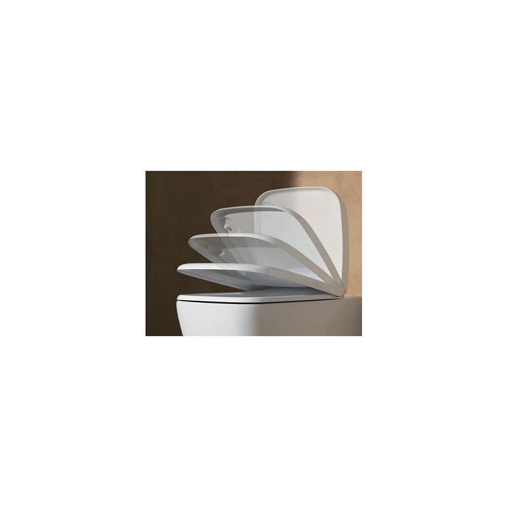 Set vas wc suspendat cu capac softclose Gala Eos imagine