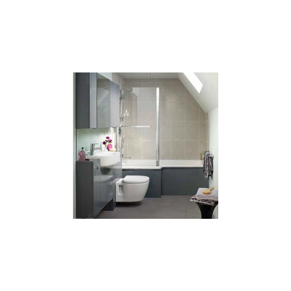 Set vas wc suspendat cu capac softclose Ideal Standard Connect Space poza