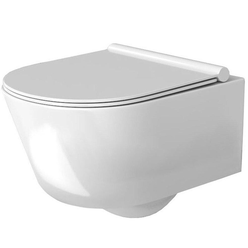 Set vas wc suspendat Rea Porter rimless capac softclose