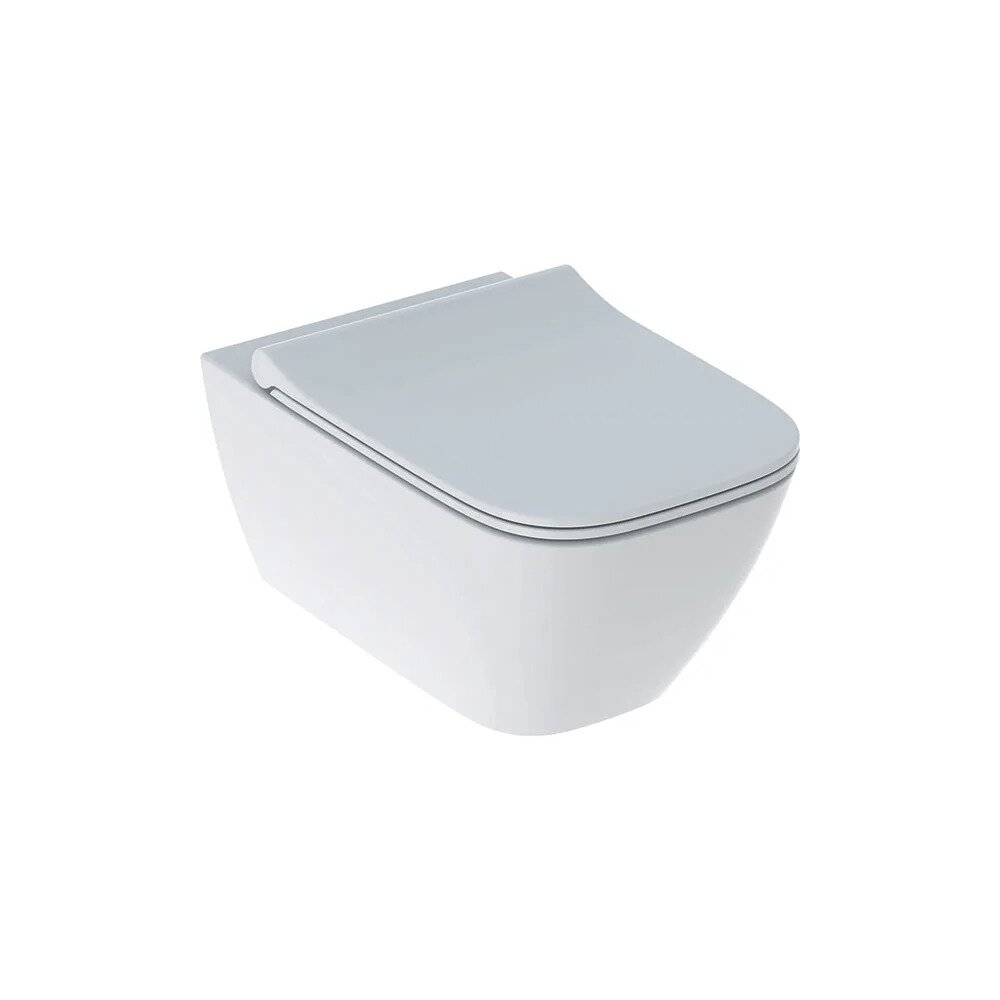 Geberit Set Vas Wc Suspendat Capac Slim Softclose Smyle Square Rimfree