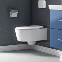 Set vas wc suspendat Villeroy&Boch Avento Direct Flush cu capac slim soft close