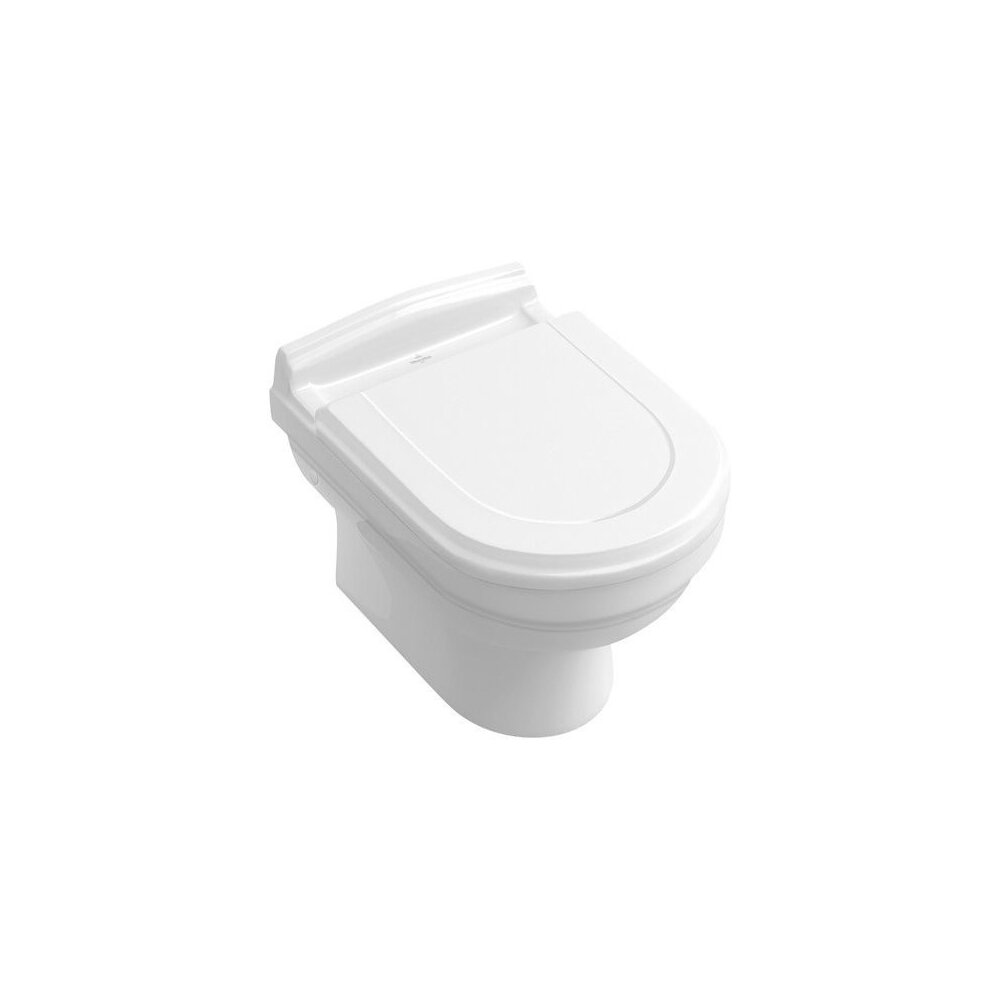 Set vas wc suspendat Villeroy&Boch Hommage cu capac soft close imagine neakaisa.ro