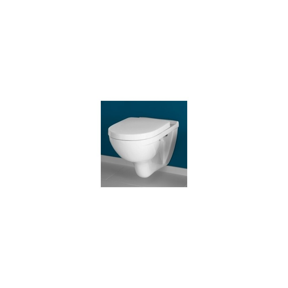 Set vas wc suspendat Villeroy&Boch O.Novo cu capac soft close imagine neakaisa.ro