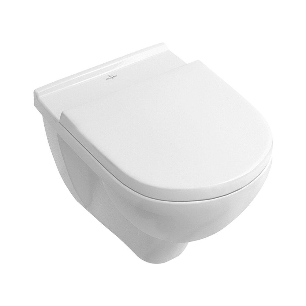 Set vas wc suspendat Villeroy&Boch O.Novo Direct Flush cu capac soft close