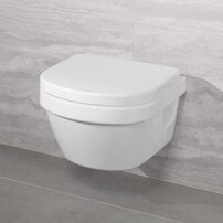 Set vas wc suspendat Villeroy&Boch Architectura XXL Direct Flush cu capac soft close