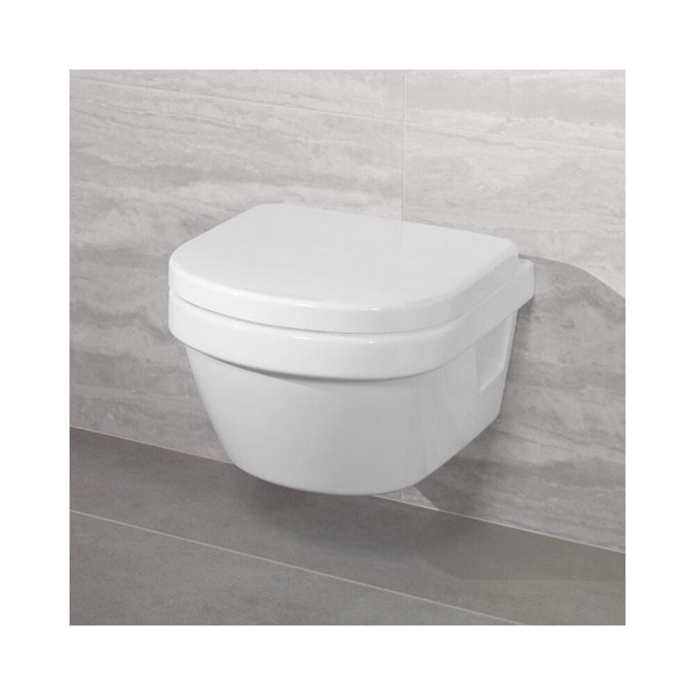Set vas wc suspendat Villeroy&Boch Architectura XXL Direct Flush cu capac soft close imagine neakaisa.ro