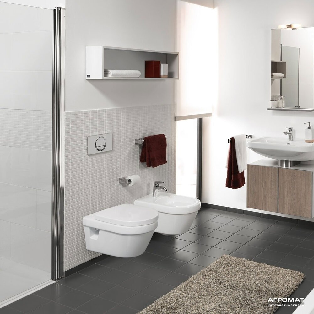 Set Vas Wc Suspendat Omnia Architectura Bideu Suspendat Capac Soft Close