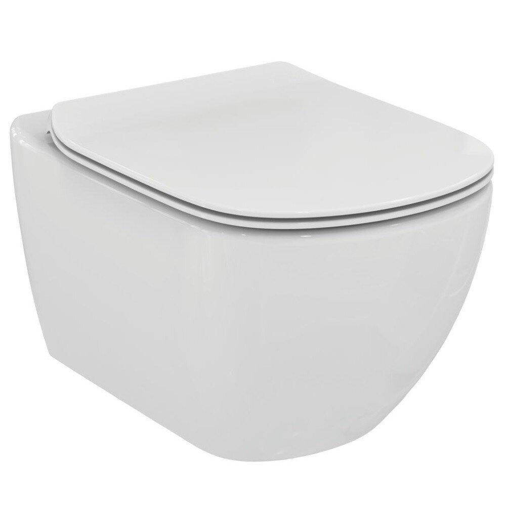 Ideal Standard Set Vas Wc Suspendat Aquabla Capac Slim Softclose