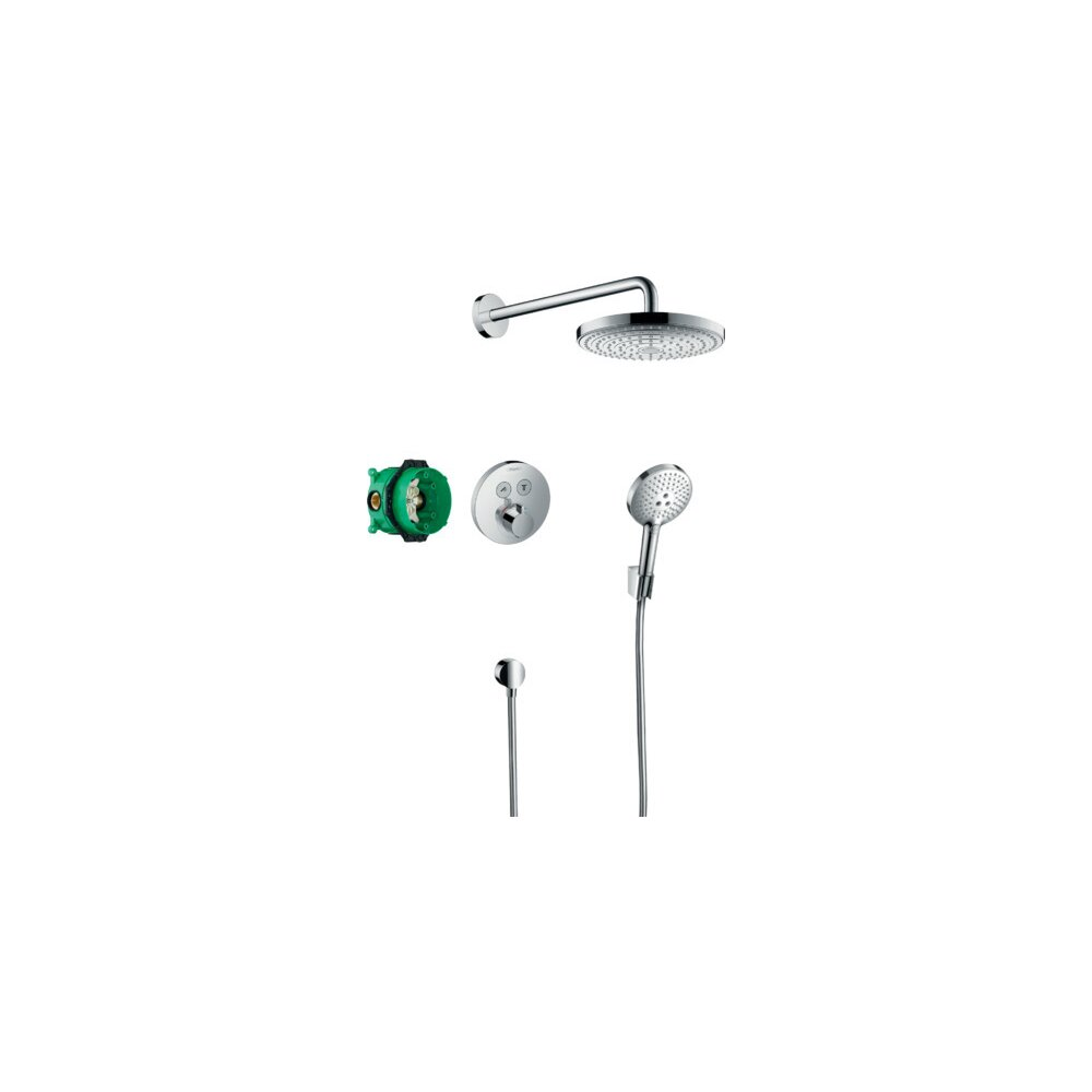 Sistem de dus termostat Hansgrohe Raindance Select S imagine