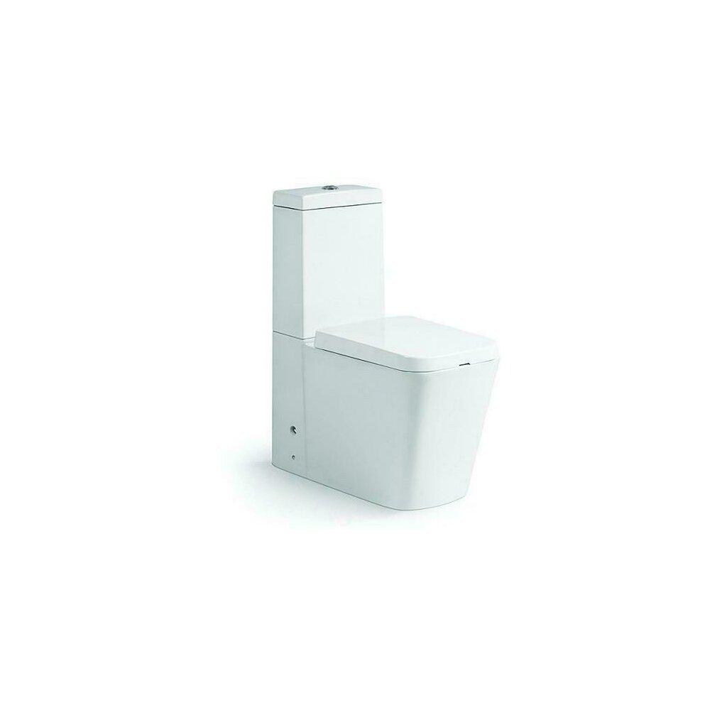 Set Vas Toaleta Square Rezervor Ceramic Capac Soft Close Duobloc